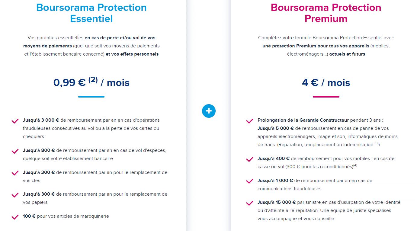 assurance boursorama banque